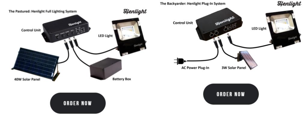 henlight solar lighting system